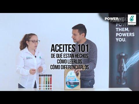 Aceites 101: Para aprender todo sobre lubricantes de motor [PETRONAS - #POWERART] S04 - E54