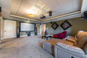 326 Lakeshore Dr - Terrace Level Theater Room