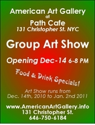 Holiday Art Show at Path Cafe. Open Everyday until Jan-2nd 2011.