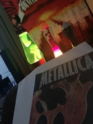 Metallica vinyl... and lava!