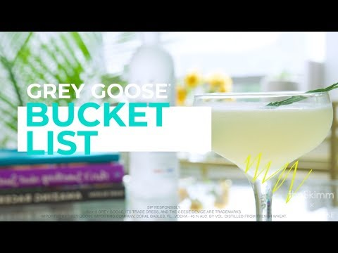 Fourth of July Drink Recipe: How to make a Bucket List | theSkimm x Grey Goose