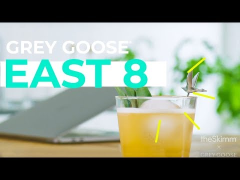 Happy Hour Cocktail for Summer Fridays: How to Make an East 8 | theSkimm x Grey Goose