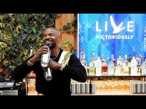 Jamie Foxx - Grey Goose Vodka Live Victoriously NYC Event