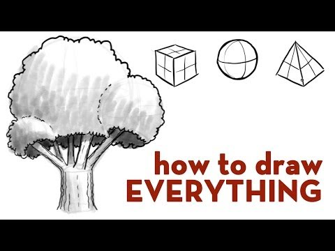 "Quick Tips ""How to Draw Everything: Tree Demo'"