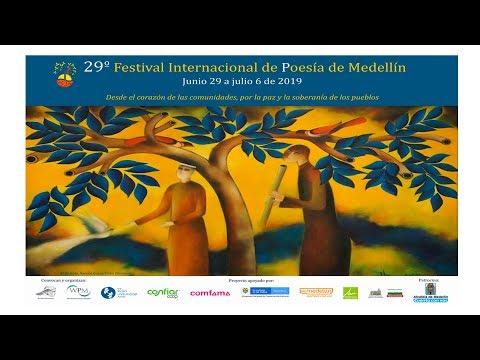 29º Festival Internacional de Poesía de Medellín / 29 de junio al 6 de julio de 2019