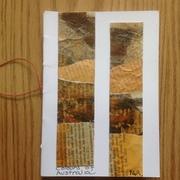 """Booklet """"Colours of Australia"""" by PGR, hand sen"""
