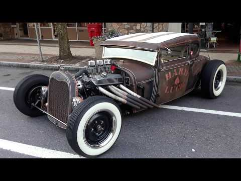 Hard Luck Rat Rod At the 2019 Pottstown Nights Car Show