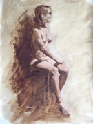 Figure Study - Seated Female