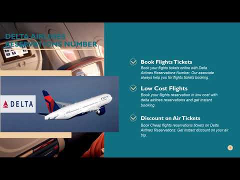 Find Your Finest Trip with Delta Airlines Reservations