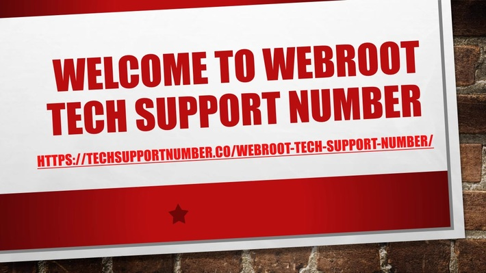 Webroot-Tech-Support-Number-For-Best-Support