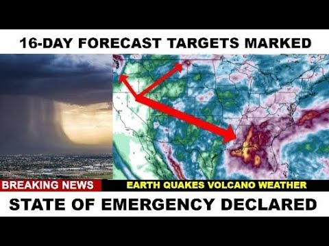 16-DAY FORECAST TARGETS SET #WEATHERWARFARE LIVE!! #ANALYSIS