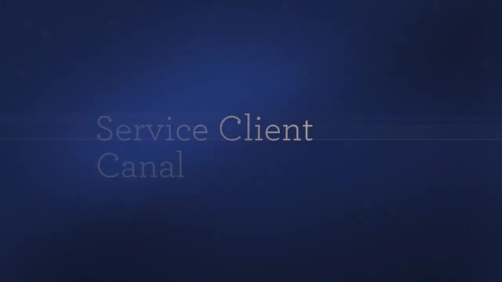 Service Client Canal