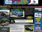 FamilyCar.com Leaderboard and Skyscraper Ads