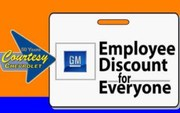 GM Employee Discount Web Ad
