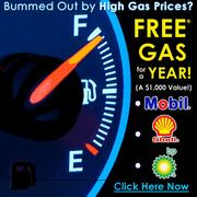 Ad Image: Free Gas For Year