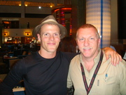 Mark Tewart with Tim Ferriss, author of The 4 Hour Work Week""