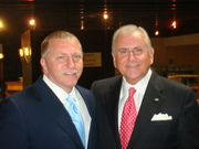 Mark Tewart with Nido Qubein the President of High point University and Chairman of The Great Harvest Bread Company