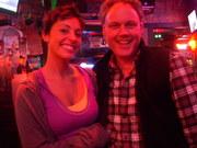 The Bartender - Merritt and me at Rippys in Nashville Sunday night December 20th