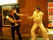 Ken with Elvis  in Nashville!