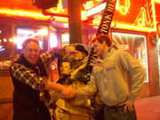 Me and Sam outside Legends in Nashville on Sunday night December 21st at 3am