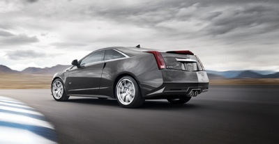 I was headed North on the AZ 101 and spotted a metallic charcoal Cadillac CTS-V which I observed slicing through traffic for about 20 miles before she lost me... This car is automotive poetry in motio