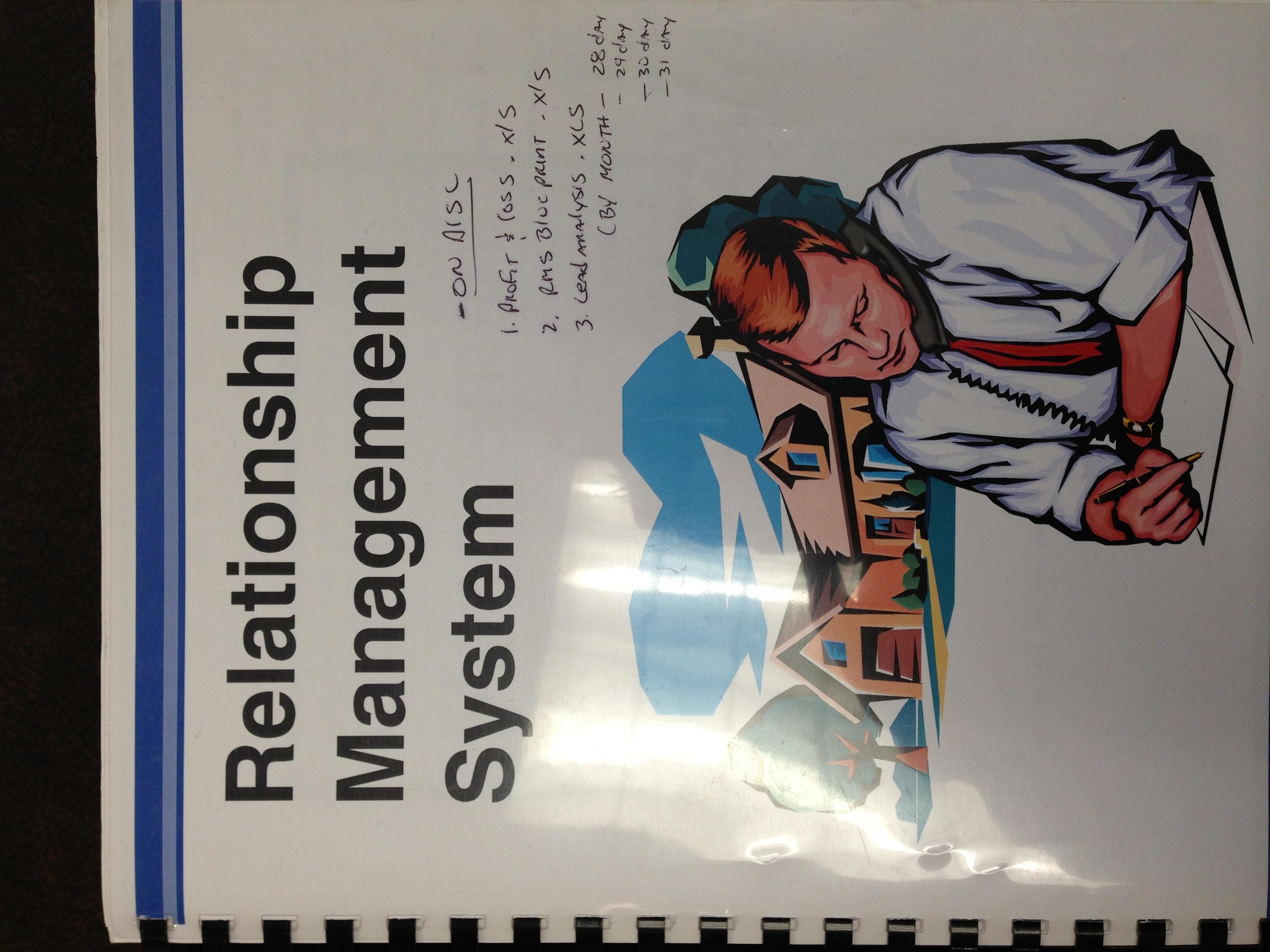 Relationship Management System for Automotive Sales Professionals