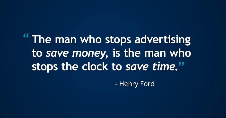 Henry Ford on Advertising