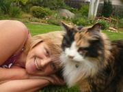 Я и кошка Тошка