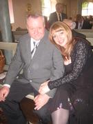 Моя дочь и муж перед венчанием в церкви