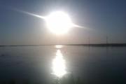 Рассвет на берегу Волги