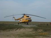 Наш вертолет.