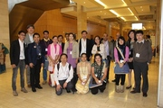 CMB Scholarship Recipients at Global Sympsoium HSR 2014, Cape Town