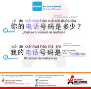 Preguntas y Respuestas en CHINO FICHA DE ESTUDIO [NRO.3]