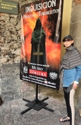 In Mexico City at the Inquisition Museum