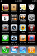 ADM Community Mobile Site Icon on iPhone