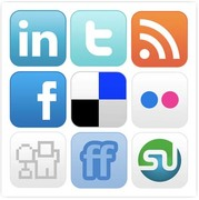 9 Social Media Site Icons