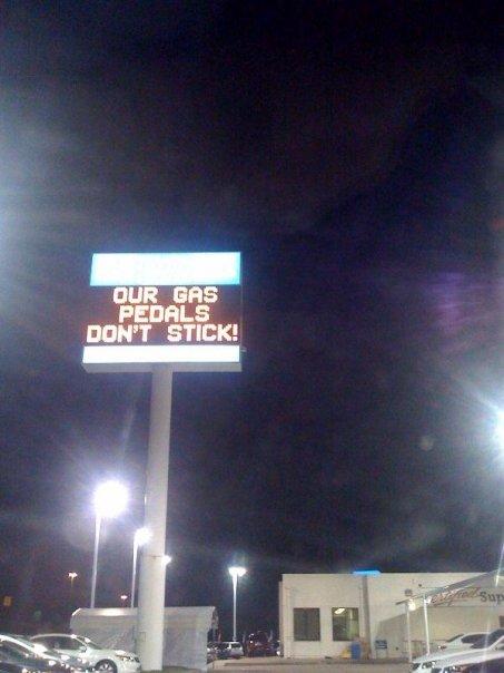 Honda Dealer Signage - Ouch