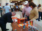 "Mark Tewart at Notre Dame Univesrity for book signing of the best seller ""How To Be A Sales Superstar"""