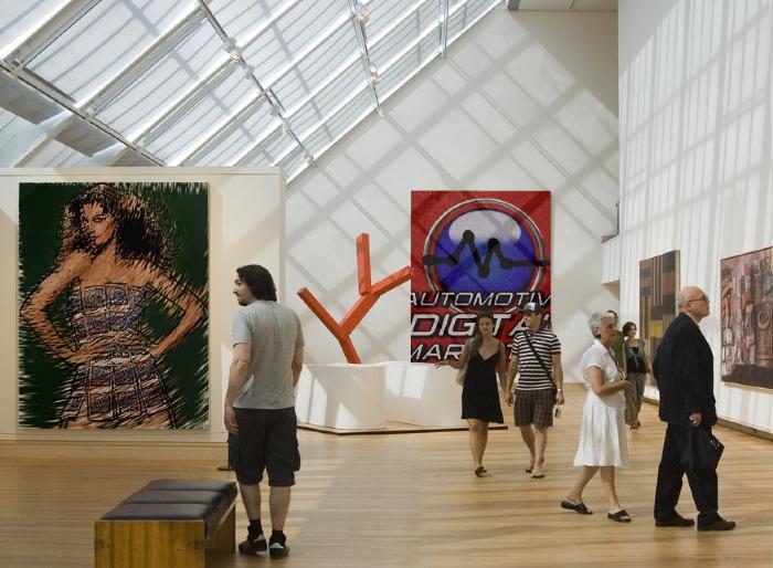 ADM Professional Community Logo in Art Gallery
