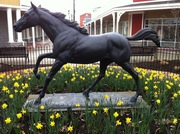 Horse Statue at Center of Tanger Outlet Center