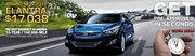 Hyundai Website Specials Update