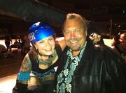 Ralph Paglia with Roller Derby Queen