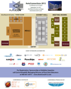 AutoCon 2012 Floorplan - Sponsors