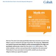Cobalt Reputation Management People Do Look at Dealership Reviews