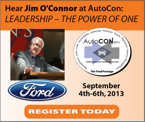 AutoCON 2013 Keynote Speaker Jim O'Connor