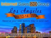 IS20G; Internet Sales 20 Group Los Angeles