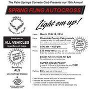 Palm Springs Corvette Club Autocross