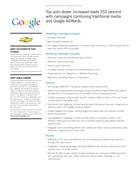 Google Car Dealer Case Study #1