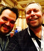 Shaun Raines and Ralph Paglia - DrivingSales Executive Summit (DSES) at Bellagio Las Vegas