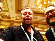Ralph Paglia and Joe Little - DrivingSales Executive Summit (DSES) at Bellagio Las Vegas